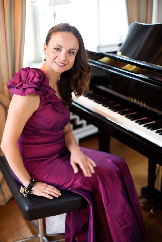 Julia Sigova, konsertpianist och konstnärlig ledare för Malmö Yamaha Piano Competition